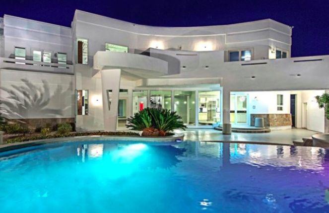 Резиденция Тайсона выставлена на продажу