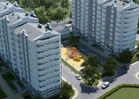 В Севастополе растет новый микрорайон на Горпищенко