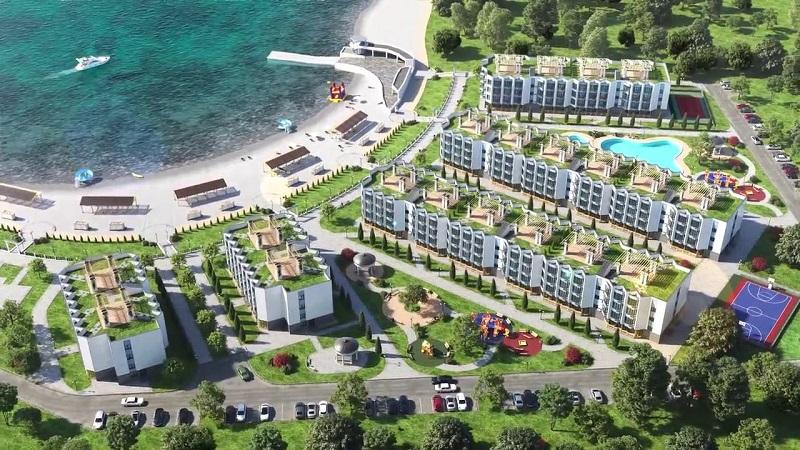 Новый пляж и новый дом -ЖК Адмиральская лагуна в Севастополе