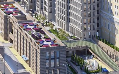 Дух эпохи «золотого века» позволит почувствовать в Москве комплекс апартаментов «Царев сад»
